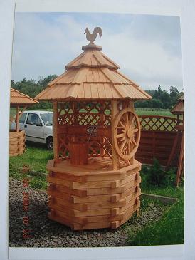 Dřevěné studny